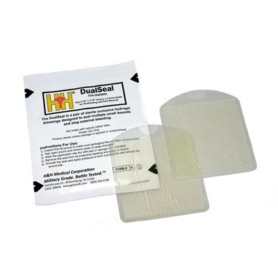 DualSeal™ Chest Seal Two-Pack