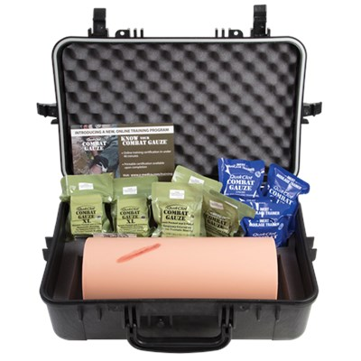 Z-Medica® Hemorrhage Control Training Kit (with QuikClot Combat Gauze®)